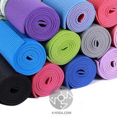 Коврик для йоги Практика 61см*173см*6 мм, Китай фото
