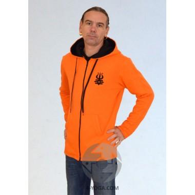Мужская куртка MEN, оранжевая фото