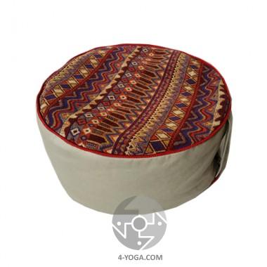 Подушка для медитации с гречневой шелухой
