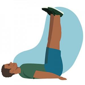 5 поз йоги для зняття стресу>