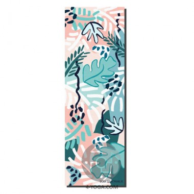 Коврик для йоги The Dora Szentmihalyi Jungle Yoga Mat 183см*61см*6мм, США фото