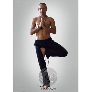 Брюки спортивные «Yoga Style», черные фото