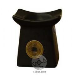 Аромалампа Монета черная