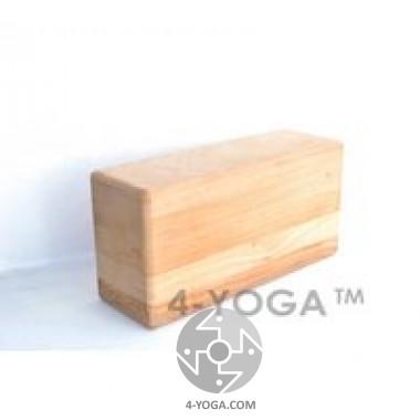Йога-блок(кирпич) деревянный