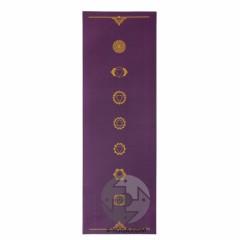 Йога мат ЛИЛА Чакры (Leela Collection Chakras) 60см*183см*4мм, Бодхи