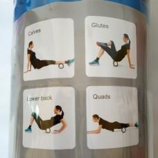 Ролик массажный для йоги (33 см*13,5 см)