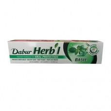 Зубна паста Базилік (Basil), Дабур, 100 гр.