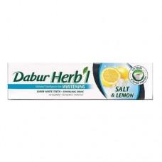 Зубна паста Сіль та Лимон (Salt&Lemon), Дабур, 80 гр.