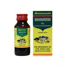 Согревающее масло Маханараян, Baidyanth, Индия, 100 мл