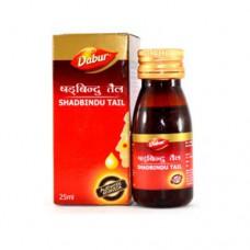 Шадбинду (Shadbindu) - масло-капли для носа, Дабур, Индия,25 мл