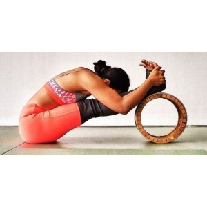 Колеса для йоги - революционная йога-опора>