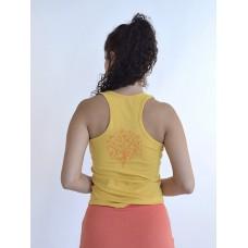 """Борцовка """"Наді"""" з малюнком на спині, жовтий"""