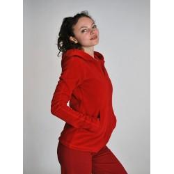 Женская куртка ИШВАРА, красная