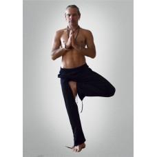 Брюки спортивні «Yoga Style», чорного кольору