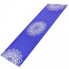 Йога мат каучуковий Індра (фіолетовий)  61см*183см*3мм, Китай