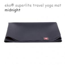 Легкий йога мат eKO SuperLite, Midnight, 61см*180см*1.5мм, Мандука