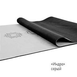 Йога мат каучуковый Индра 61см*183см*3мм, Китай