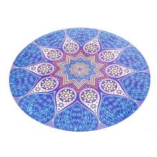 Круглый коврик для йоги Мандала 150см*3мм, Китай Тайвань и Китай