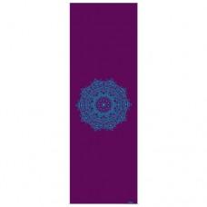 """Коврик для йоги """"ЛИЛА Мандала"""", бакл./петр. (Leela Collection) 60см*183см*4мм, Бодхи, Германия"""