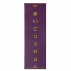 Йога мат ЛІЛА Чакри (Leela Collection Chakras) 60см*183см*4мм, Бодхі