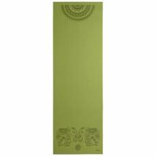 Йога мат ЛІЛА Слони (Leela Elephants Mandala) 60см*183см*4мм, Бодхі