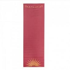 Йога мат ЛІЛА Сурья Намаскар (Leela Collection Sun Salutation) 60см*183см*4мм, Бодхі