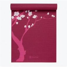 Коврик для йоги PINK CHERRY BLOSSOM YOGA MAT 173см*61см*3мм, США