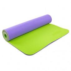 Коврик для йоги Zelart TPE 61см*173см*6 мм, Китай