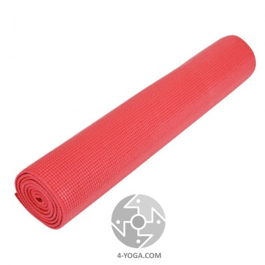 Коврик для йоги Классика PVC, 61см*173см*4 мм, Китай фото