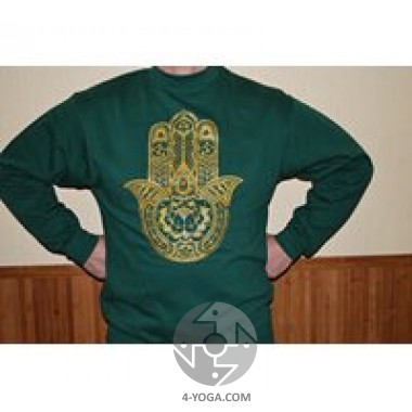 Реглан мужской зеленый