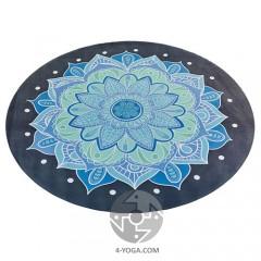 Круглый коврик для йоги Мандала   150см*3мм, Китай
