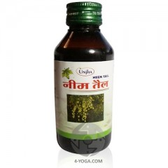 Антисептическое масло нима (ним таил), Unja, Индия, 100 мл