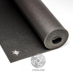 Профессиональный йога мат KURMA Black 100см*200см*6,4мм , Германия