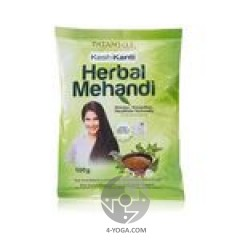 Аюрведическая хна для волос (Herbal Mehandi), Patanjali, 100г