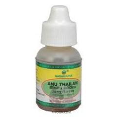Ану таил - масло-капли для носа(Anu Tailam), Нагарджуна, Индия,10 мл