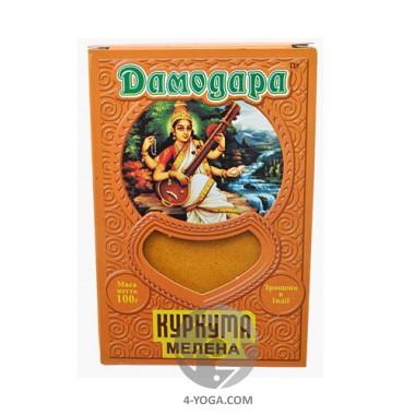 """Куркума """"Дамодара"""", Индия, 100 г. фото"""