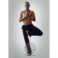 Брюки спортивные «Yoga Style», черные