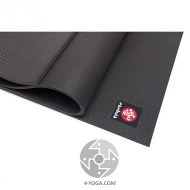 Коврик для йоги Мандука Блэк Про XL(The Black PRO Extra Large)  66см*215см*6мм, Мандука, США