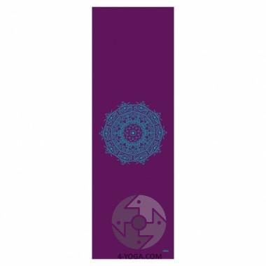 Йога мат ЛИЛА Мандала  (Leela Collection Mandala) 60см*183см*4мм, Бодхи фото