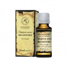 Ефірна олія евкаліптова, 20 мл, Ароматика