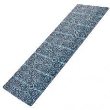 Йога мат каучуковый Индра (сине-черный)  61см*183см*3мм, Китай