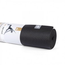 Килимок для йоги VBD Mat (Virabhadrasana), 200*66см, 5,5 мм, чорний, Бодхі