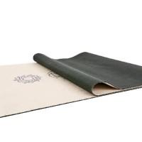 Йога мат каучуковый Чакры (бежевый) 61см*183см*3мм, Китай