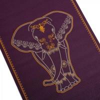 Йога мат ЛІЛА Великий Слон, двокольоровий (Leela BIG ELEPHANT, bicolour) 60см*183см*4,5мм, Бодхі
