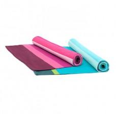 Бавовняний килимок для йоги РУДРА (Rudra), 71см*198см *2 мм, Бодхи