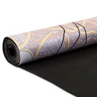Йога мат каучуковый Спокойствие Лотоса, 61см*183см*3мм, Китай