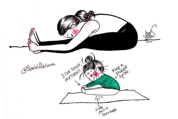 Не делайте йогу для фотографии