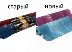 Каучуковый йога коврик Самурай Бодхи